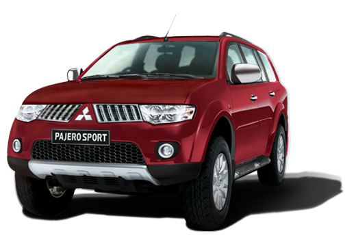 Mitsubishi Pajero Sport available in Rugged Red
