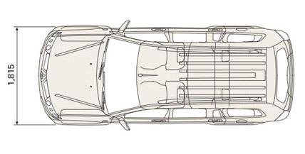 Mitsubishi Pajero Sport dimensions weights